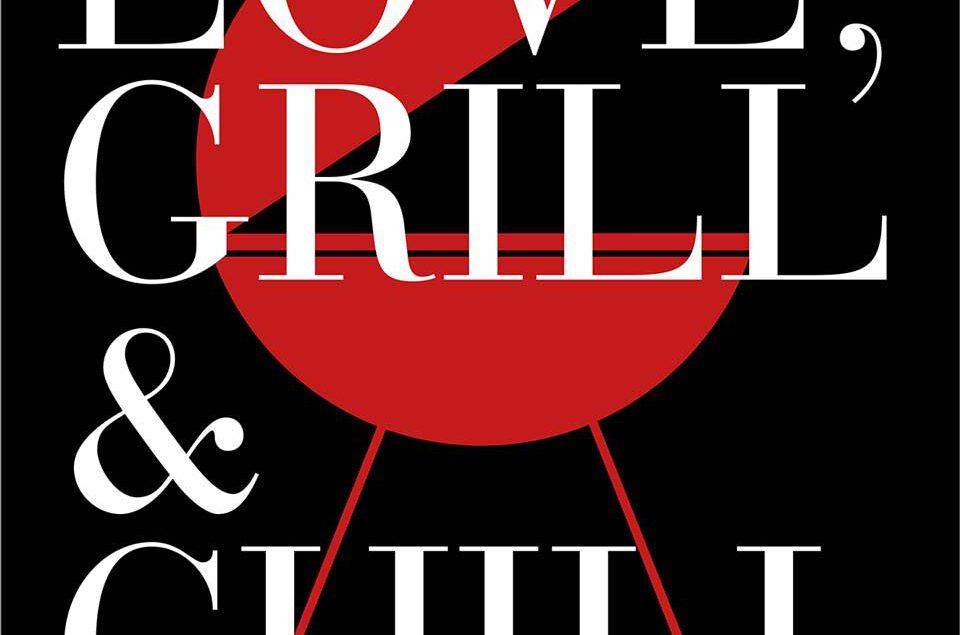 Label Design Gin »Love, Grill & Chill«